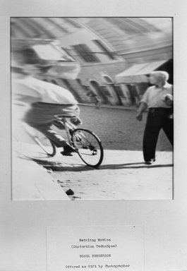 Nigel Henderson (American, 1917-1985). <em>Swirling Motion (Distortion Technique)</em>, 1951. Gelatin silver photograph, 10 x 8 in. (25.4 x 20.3 cm). Brooklyn Museum, Gift of the artist, 52.69.2. © artist or artist's estate (Photo: Brooklyn Museum, 52.69.2_acetate_bw.jpg)