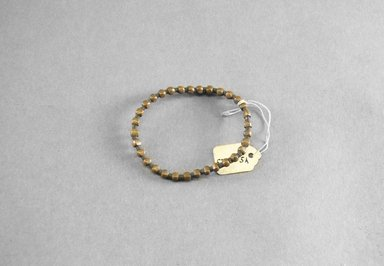 Possibly Zulu. <em>Bracelet</em>, 19th century. Metal, 1 15/16 x 2 5/8 in. (5 x 6.7 cm). Brooklyn Museum, Bequest of Mrs. George Hadden, 52.80.5a. Creative Commons-BY (Photo: Brooklyn Museum, 52.80.5a_PS5.jpg)