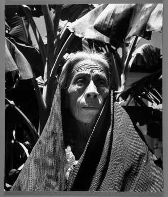 Fritz Henle (American, 1909-1993). <em>Aged Mexican Woman</em>. Photograph Brooklyn Museum, Gift of the artist, 53.13.5. © artist or artist's estate (Photo: Brooklyn Museum, 53.13.5_bw.jpg)