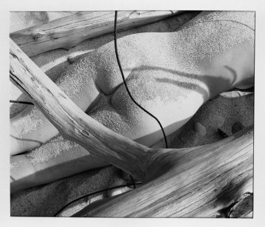 Fritz Henle (American, 1909-1993). <em>Beach - Nude</em>. Photograph Brooklyn Museum, Gift of the artist, 53.13.8. © artist or artist's estate (Photo: Brooklyn Museum, 53.13.8_acetate_bw.jpg)