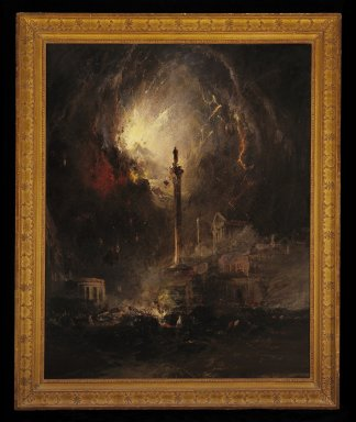 James Hamilton (American, 1819-1878). <em>The Last Days of Pompeii</em>, 1864. Oil on canvas, 59 15/16 x 48 1/16 in. (152.2 x 122 cm). Brooklyn Museum, Dick S. Ramsay Fund, 55.138 (Photo: Brooklyn Museum, 55.138_SL3.jpg)