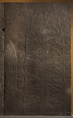 Assyrian. <em>Sacred Tree</em>, ca. 883-859 B.C.E. Gypsum stone, 89 7/8 x 53 9/16 in. (228.3 x 136 cm). Brooklyn Museum, Purchased with funds given by Hagop Kevorkian and the Kevorkian Foundation, 55.150. Creative Commons-BY (Photo: Brooklyn Museum, 55.150_PS11.jpg)