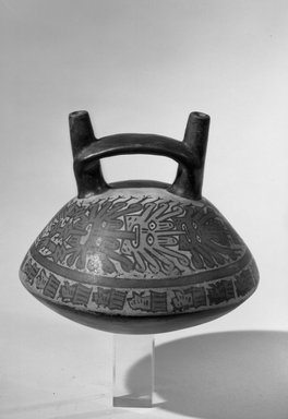 <em>Pottery Vessel</em>. Brooklyn Museum, Gift of Mrs. Carl Gerdau, 56.35.1. Creative Commons-BY (Photo: Brooklyn Museum, 56.35.1_acetate_bw.jpg)