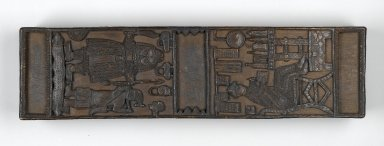 Edo. <em>Box with lid</em>, second half of 19th century. Wood, 4 7/16 × 27 7/8 × 7 5/8 in. (11.3 × 70.8 × 19.3 cm). Brooklyn Museum, Gift of Arturo and Paul Peralta-Ramos, 56.6.63a-b. Creative Commons-BY (Photo: Brooklyn Museum, 56.6.63a-b_PS1.jpg)