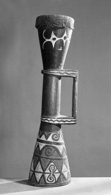 <em>Drum</em>., 8 1/16 x 33 3/16in. (20.5 x 84.3cm). Brooklyn Museum, Gift of Arturo and Paul Peralta-Ramos, 56.6.81. Creative Commons-BY (Photo: Brooklyn Museum, 56.6.81_acetate_bw.jpg)
