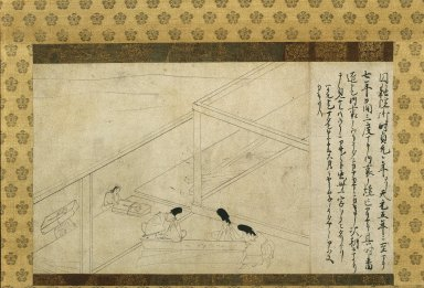 <em>Painting</em>, 14th century. Hanging scroll, ink on paper, 11 x 18 1/2 in. (28 x 47 cm). Brooklyn Museum, Frank L. Babbott Fund, 57.171 (Photo: Brooklyn Museum, 57.171_IMLS_SL2.jpg)