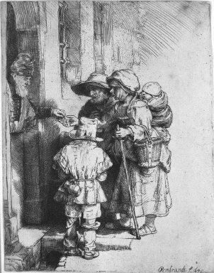 Sir David Young Cameron (Scottish, 1865-1945). <em>Ambroise</em>, 1903. Etching on laid paper, 10 3/8 x 6 in. (26.3 x 15.2 cm). Brooklyn Museum, Gift of Mrs. Charles Pratt, 57.188.5 (Photo: Brooklyn Museum, 57.188.5_acetate_bw.jpg)