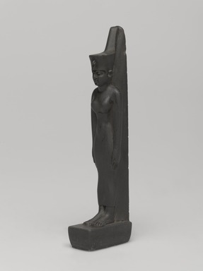 <em>Neith</em>, 664-343 B.C.E. Slate, 4 3/8 × 13/16 × 1 1/4 in. (11.1 × 2 × 3.1 cm). Brooklyn Museum, Charles Edwin Wilbour Fund, 58.79.2. Creative Commons-BY (Photo: , 58.79.2_threequarter_PS9.jpg)