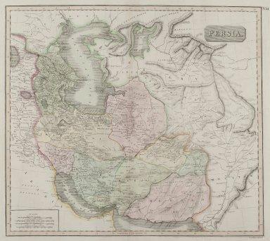 John Menzies (born 1780). <em>Persia</em>, n.d. Engraving, Sheet: 28 3/8 x 21 1/4 in. (72 x 54 cm). Brooklyn Museum, Gift of Mrs. M.D.C. Crawford and Adelaide Goan, 60.108.82i (Photo: Brooklyn Museum, 60.108.82i_PS2.jpg)