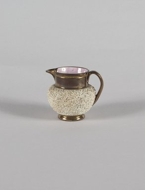 <em>Miniature Pitcher</em>, ca. 1820. Copper, 2 5/8 in. (6.7 cm). Brooklyn Museum, Gift of Florence Stone Harder, 60.134.33. Creative Commons-BY (Photo: Brooklyn Museum, 60.134.33_PS5.jpg)