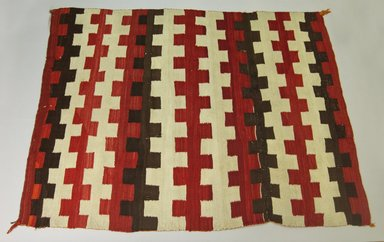 Navajo. <em>Blanket</em>. Wool, 65 3/8 x 50 9/16in. (166 x 128.5cm). Brooklyn Museum, Gift of Thomas Watters, Jr., 60.145.7. Creative Commons-BY (Photo: Brooklyn Museum, 60.145.7_PS5.jpg)
