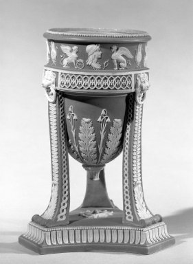 <em>Wedgwood II</em>. Jasper, agate, and other ware Brooklyn Museum, Gift of Emily Winthrop Miles, 60.198.20. Creative Commons-BY (Photo: Brooklyn Museum, 60.198.20_acetate_bw.jpg)