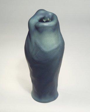"Van Briggle Pottery Company. <em>""Lorelei"" Vase</em>, ca. 1925. Matt-glazed earthenware Brooklyn Museum, Dick S. Ramsay Fund, 60.79. Creative Commons-BY (Photo: Brooklyn Museum, 60.79.jpg)"