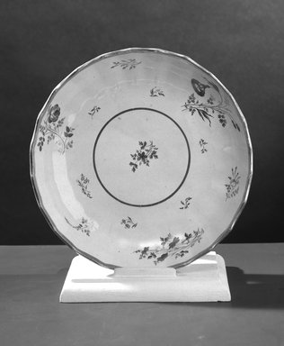 <em>Two Dishes (white-1 found)</em>. Brooklyn Museum, Gift of Emily Winthrop Miles, 61.199.54. Creative Commons-BY (Photo: Brooklyn Museum, 61.199.54a_acetate_bw.jpg)