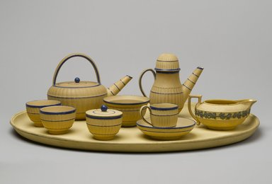 Josiah Wedgwood & Sons Ltd. (founded 1759). <em>Miniature Tea Bowl</em>, ca. 1800. Stoneware, Height x Diameter of Tea Bowl: 1 1/4 x 1 15/16 in. (3.2 x 4.9 cm). Brooklyn Museum, Gift of Emily Winthrop Miles, 61.199.66. Creative Commons-BY (Photo: , 61.199.60_61.199.61_61.699.62a-b_61.199.63_61.199.64_61.199.65_61.199.66_61.199.67_61.199.68_PS2.jpg)