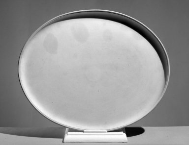 Josiah Wedgwood & Sons Ltd. (founded 1759). <em>Miniature Tray</em>. Stoneware, 3/4 x 13 3/4 x 11 1/4 in. (1.9 x 34.9 x 28.6 cm). Brooklyn Museum, Gift of Emily Winthrop Miles, 61.199.60. Creative Commons-BY (Photo: Brooklyn Museum, 61.199.60_acetate_bw.jpg)