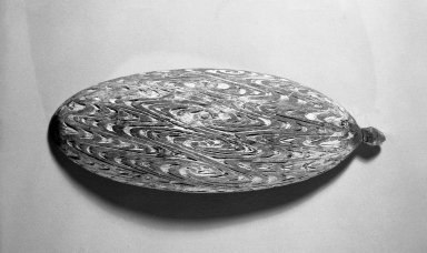 <em>Sago Bowl</em>, 20th century. Wood, pigment, 16 1/8 x 5 1/2 in. (41 x 14 cm). Brooklyn Museum, Gift of Stanley Ross, 62.55.4. Creative Commons-BY (Photo: Brooklyn Museum, 62.55.4_acetate_bw.jpg)