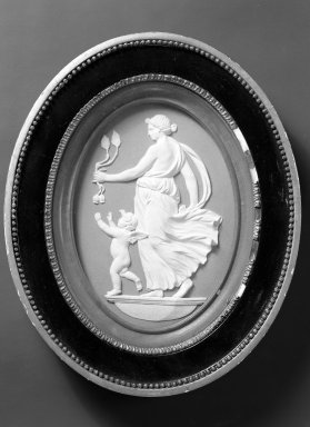 <em>Pounce Pot</em>, ca. 1800-1820. Porcelain, 2 x 2 5/16 in. (5.1 x 5.9 cm). Brooklyn Museum, Gift of H. Randolph Lever in memory of Mary E. Lever, 62.78.10. Creative Commons-BY (Photo: Brooklyn Museum, 62.78.10_acetate_bw.jpg)