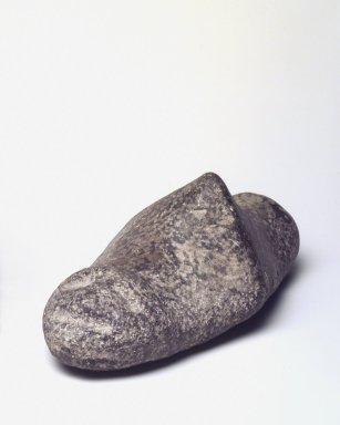 Taino. <em>Zemi Stone</em>, probably 20th century. Stone, 4 1/4 x 11 1/4 x 5 1/2 in. (10.8 x 28.6 x 14 cm). Brooklyn Museum, Dick S. Ramsay Fund, 63.200.2. Creative Commons-BY (Photo: Brooklyn Museum, 63.200.2.jpg)