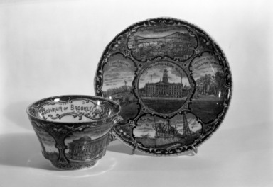 The Rowland & Marsellus Company (1893-1938). <em>Cup and Saucer</em>, early 20th century. 