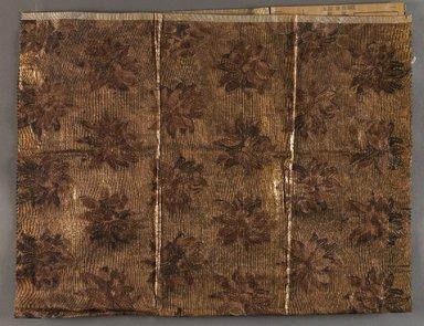 Onondaga Silk Company, Inc. (1925-1981). <em>Textile Swatches</em>, 1948-1959. Silk and metallic threads, (a) - (f): 13 1/2 x 8 in. (34.3 x 20.3 cm). Brooklyn Museum, Gift of the Onondaga Silk Company, 64.130.4a-g (Photo: Brooklyn Museum, 64.130.4a_PS9.jpg)
