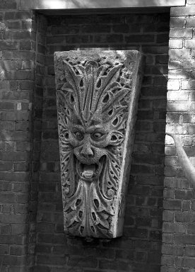 A. Lund Company. <em>Greenman Keystone, from 2222 South Wabash Avenue, Chicago (demolished circa 1964)</em>, 1896. Limestone 