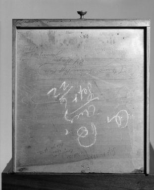 Duncan Phyfe (American, born Scotland, 1768-1854). <em>Wash Stand</em>, ca.1810. Mahogany, mahogany veneer, 33 1/2 x 16 3/4 x 18 1/2 in. (85.1 x 42.5 x 47 cm). Brooklyn Museum, Bequest of H. Randolph Lever, 64.80.23. Creative Commons-BY (Photo: Brooklyn Museum, 64.80.23_mark_bw_IMLS.jpg)