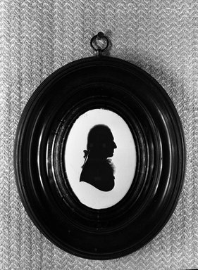 <em>Silhouette of Charles Gower</em>. Brooklyn Museum, Gift of the Estate of Emily Winthrop Miles, 64.82.403 (Photo: Brooklyn Museum, 64.82.403_acetate_bw.jpg)
