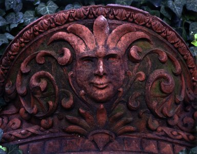 Unknown. <em>Pilaster Capital with Greenman, from an unidentified building on Worth Street, between Church and Broadway, NYC (demolished 1961)</em>, ca. 1900. Terra cotta, 21 x 27 1/2 x 21 3/4 in., 186 lb. (53.3 x 69.9 x 55.2 cm, 84.37kg). Brooklyn Museum, Gift of Anonymous Arts Recovery Society, 65.127.4. Creative Commons-BY (Photo: Brooklyn Museum, 65.127.4.jpg)