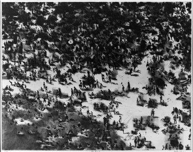 Gerson Leiber (American, 1921-2018). <em>The Beach</em>, 1965. Etching on wove paper, 21 1/2 x 27 3/4 in. (54.6 x 70.5 cm). Brooklyn Museum, Dick S. Ramsay Fund, 65.211. © artist or artist's estate (Photo: Brooklyn Museum, 65.211_acetate_bw.jpg)