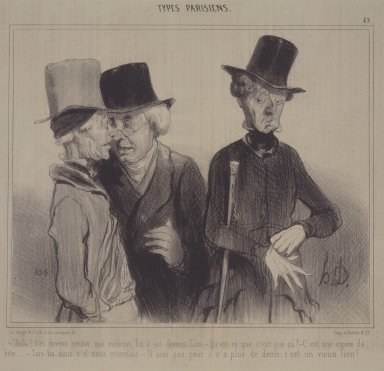 Honoré Daumier (French, 1808-1879). <em>Voila!...</em>, November 18, 1841. Lithograph on newsprint, Sheet: 9 7/8 x 13 1/4 in. (25.1 x 33.7 cm). Brooklyn Museum, Gift of Sydel Solomon, 65.265.17 (Photo: Brooklyn Museum, 65.265.17.jpg)
