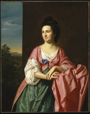 John Singleton Copley (American, 1738-1815). <em>Mrs. Sylvester (Abigail Pickman) Gardiner</em>, ca. 1772. Oil on canvas, 50 3/8 x 40 in. (128 x 101.6 cm). Brooklyn Museum, Dick S. Ramsay Fund, 65.60 (Photo: Brooklyn Museum, 65.60_SL1.jpg)