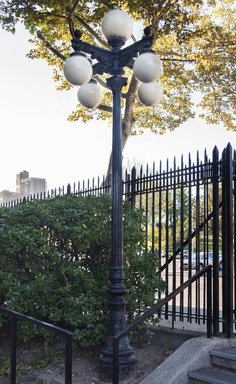 Lamp Post, one of two, from Steeplechase P...