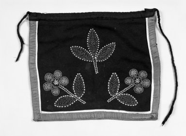 Pueblo (unidentified). <em>Dance Kilt</em>, 20th century. Beads, wool, string, cotton, 13 1/2 x 15 1/2 in.  (34.3 x 39.4 cm). Brooklyn Museum, Gift of Mr. and Mrs. Jerome Blum, 66.86.26. Creative Commons-BY (Photo: Brooklyn Museum, 66.86.26_bw.jpg)