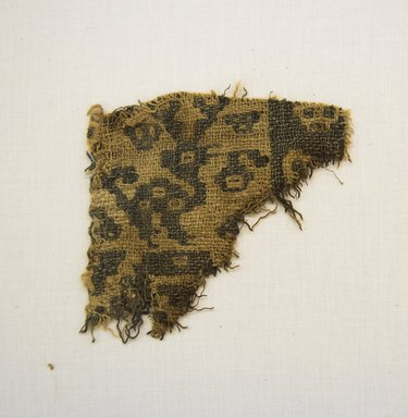 Chancay. <em>Textile Fragment, undetermined</em>, 1000-1532. Cotton, 3 3/4 x 3 15/16 in. (9.5 x 10 cm). Brooklyn Museum, Gift of Adelaide Goan, 67.159.22. Creative Commons-BY (Photo: Brooklyn Museum, 67.159.22_front_PS5.jpg)