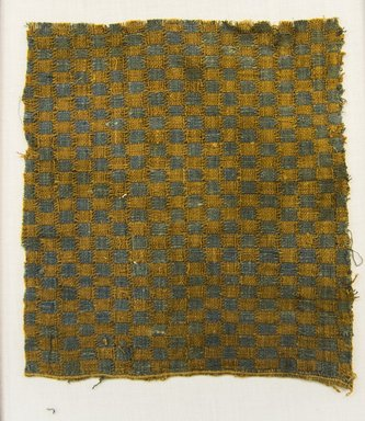 <em>Textile Fragment, undetermined</em>, 1532-1700 or 1000-1400. Cotton, 7 1/16 x 7 11/16 in. (18 x 19.5 cm). Brooklyn Museum, Gift of Adelaide Goan, 67.159.29. Creative Commons-BY (Photo: Brooklyn Museum, 67.159.29_front_PS5.jpg)