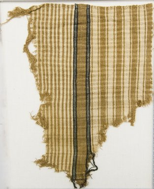 <em>Textile Fragment, undetermined</em>, 1532-1700 or 1000-1400. Cotton, (25.0 x 20.0 cm). Brooklyn Museum, Gift of Adelaide Goan, 67.159.43. Creative Commons-BY (Photo: Brooklyn Museum, 67.159.43_front_PS5.jpg)