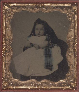Unknown. <em>Untitled - Alexander Walker, Brother of Donor</em>. Ambrotype Brooklyn Museum, Gift of Josephine and Henrietta Walker, 68.79.13 (Photo: Brooklyn Museum, 68.79.13.jpg)