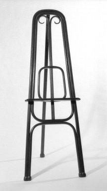 Gebrüder Thonet. <em>Easel</em>, ca. 1870. copper beech, 69 x 24 1/2 x 27 in. (175.3 x 62.2 x 68.6 cm). Brooklyn Museum, Caroline A.L. Pratt Fund, 69.79.2. Creative Commons-BY (Photo: Brooklyn Museum, 69.79.2_bw.jpg)