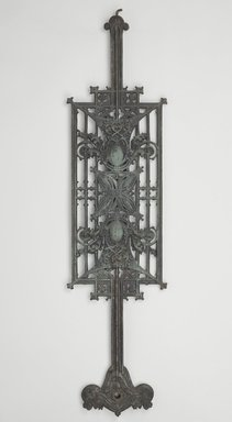 Louis Henry Sullivan (American, 1856-1924). <em>Baluster Panel, One of Set</em>, ca.1903. Cast iron, paint, 40 x 9 3/4 x 2 1/4 in. (101.6 x 24.8 x 5.7 cm). Brooklyn Museum, Gift of Carson, Pirie and Scott Co., 71.42.3. Creative Commons-BY (Photo: Brooklyn Museum, 71.42.3_PS9.jpg)