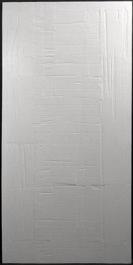 Eleanore Mikus (American, born 1927). <em>Tablet #62</em>, 1963. Epoxy on wood, 95 1/2 x 47 5/16 in. (242.6 x 120.2 cm). Brooklyn Museum, Anonymous gift, 72.101.1. © artist or artist's estate (Photo: Brooklyn Museum, 72.101.1_bw.jpg)