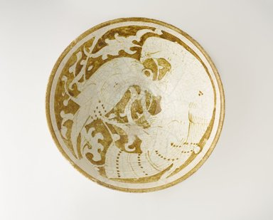 <em>Bowl</em>, 12th-13th century. Ceramic, 3 5/16 x 7 7/8 in. (8.4 x 20 cm). Brooklyn Museum, Gift of Mr. and Mrs. Charles K. Wilkinson, 72.26.3. Creative Commons-BY (Photo: Brooklyn Museum, 72.26.3_top_PS9.jpg)