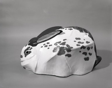 Anne Arnold (American, 1925-2014). <em>Bun Bun</em>, 1971. Polyester resin on plywood, 21 x 43 in. (53.3 x 109.2 cm). Brooklyn Museum, Gift of Alastair Bradley Martin, 72.44. © artist or artist's estate (Photo: Brooklyn Museum, 72.44_side_bw.jpg)