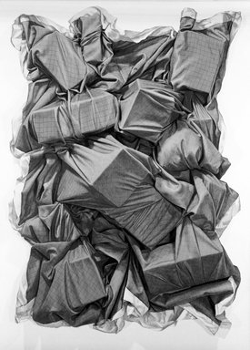 John Salt (British, born 1937). <em>Desert Wreck</em>, 1972. Lithograph on paper, sheet: 25 3/8 x 35 5/8 in. (64.5 x 90.5 cm). Brooklyn Museum, Designated Purchase Fund, 73.11h. © artist or artist's estate (Photo: Brooklyn Museum, 73.11h_bw.jpg)
