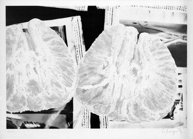 Ben Schonzeit (American, born 1942). <em>Tangerine Sugar</em>, 1972. Lithograph on paper, sheet: 24 3/4 x 34 1/2 in. (62.9 x 87.6 cm). Brooklyn Museum, Designated Purchase Fund, 73.11i. © artist or artist's estate (Photo: Brooklyn Museum, 73.11i_bw.jpg)
