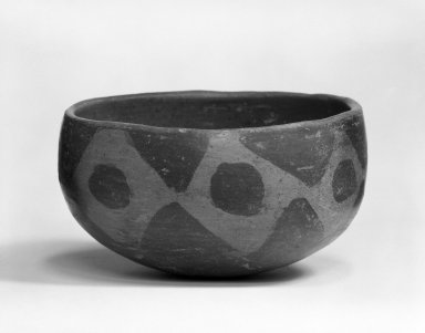 <em>Bowl</em>. Terracotta Brooklyn Museum, Gift of Mr. and Mrs. Cedric H. Marks, 73.183.4. Creative Commons-BY (Photo: Brooklyn Museum, 73.183.4_bw.jpg)