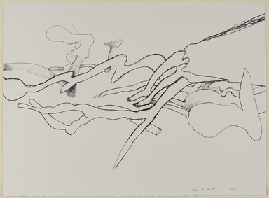 Richard Hunt (American, born 1935). <em>Untitled</em>, ca. 1970. Lithograph, black and white, 22 x 29 7/8 in. (55.9 x 75.9 cm). Brooklyn Museum, Gift of Mr. and Mrs. Samuel Dorsky, 74.178.38. © artist or artist's estate (Photo: Brooklyn Museum, 74.178.38_PS9.jpg)