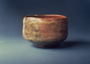 <em>Tea Bowl</em>, late 17th-early 18th century. Glazed earthenware, 3 x 4 1/2 in. (7.6 x 11.4 cm). Brooklyn Museum, Designated Purchase Fund, 74.53a-d. Creative Commons-BY (Photo: Brooklyn Museum, 74.53a-d.jpg)