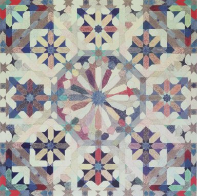 Joyce Kozloff (American, born 1942). <em>Sixteen-Point Star Pattern II</em>, 1975. Colored pencil and gouache on paper Brooklyn Museum, John B. Woodward Memorial Fund, 76.73. © artist or artist's estate (Photo: Brooklyn Museum, 76.73.jpg)
