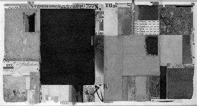 William Dole (American, 1917-1983). <em>Trés Riche</em>, 1977. Paper collage, 5 1/2 x 10 1/8 in. (14 x 25.7 cm). Brooklyn Museum, Caroline H. Polhemus Fund, 78.10. © artist or artist's estate (Photo: Brooklyn Museum, 78.10_bw.jpg)